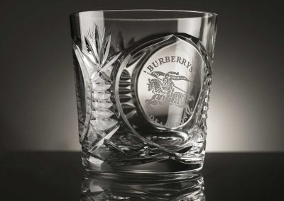 Burberry Rocks Glass
