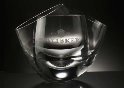 Diageo—Talisker Glass