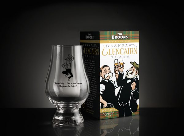 The Broons Whisky Glass