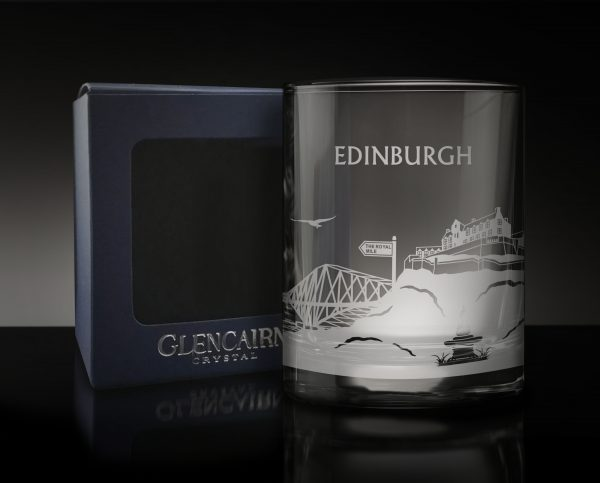 Edinburgh Skyline Glass