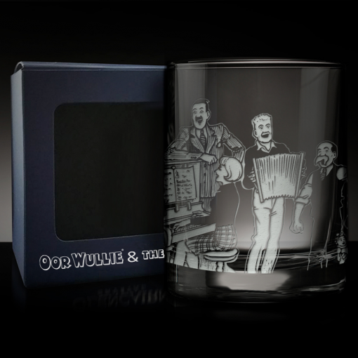 The Broons Glencairn Crystal Tumbler Glass