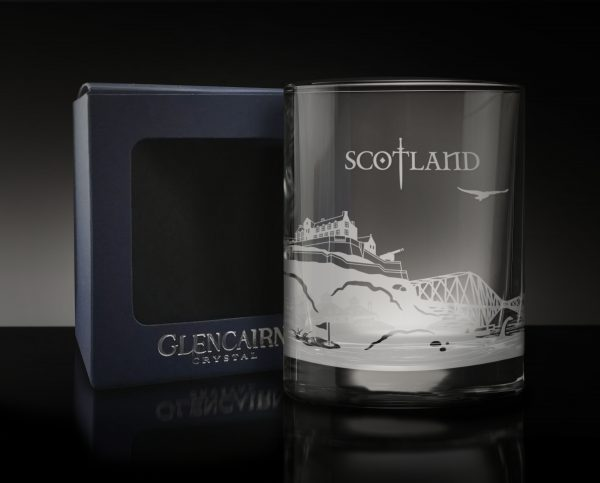 Scotland Skyline Glass