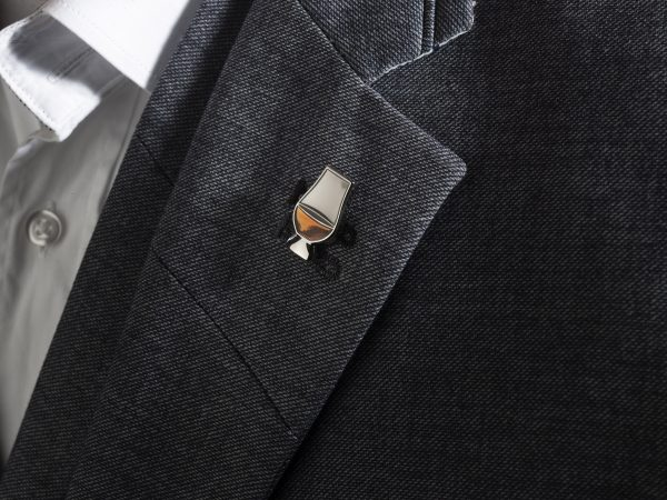Glencairn Glass Lapel Pin Badge