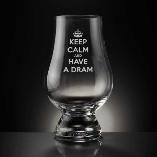 Keep Calm Have a Dram Glencairn