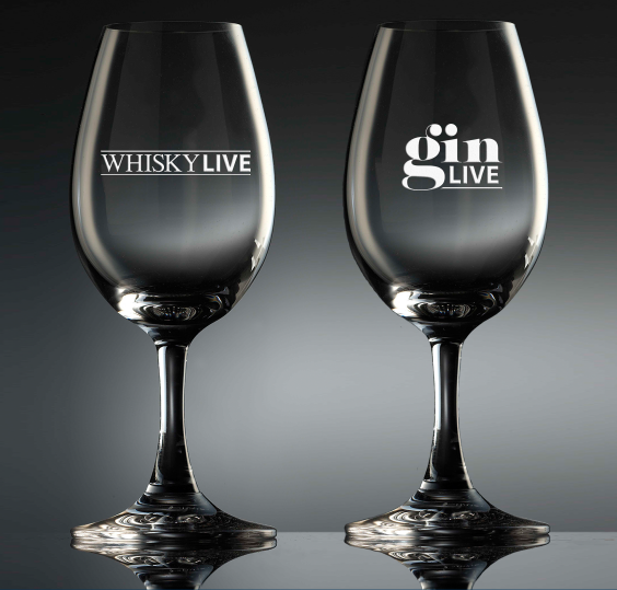 Glencairn Supply Glassware to WhiskyLive and GinLive