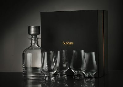 Iona Decanter and 4× Glencairn Glass Set