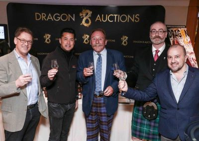 Dragon 8 Stand at Hong Kong Whisky Festival '16