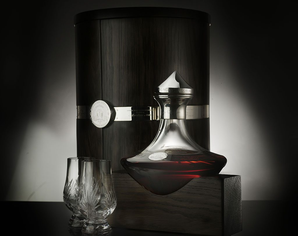 Duncan Taylor Decanter and Glasses