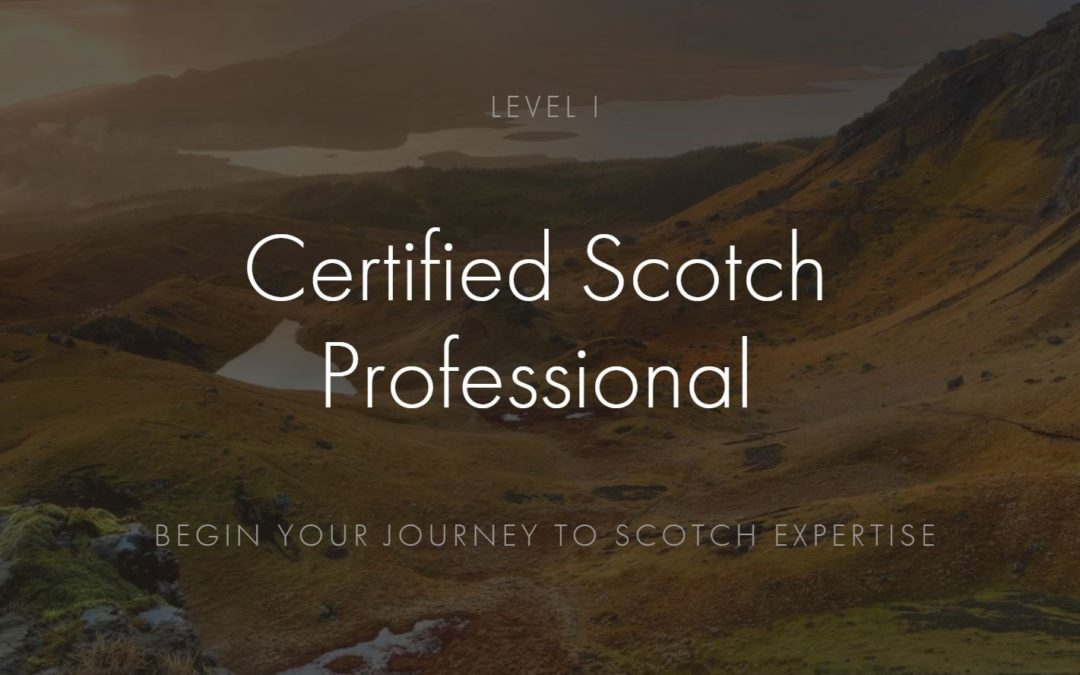 Certified Scotch Professional