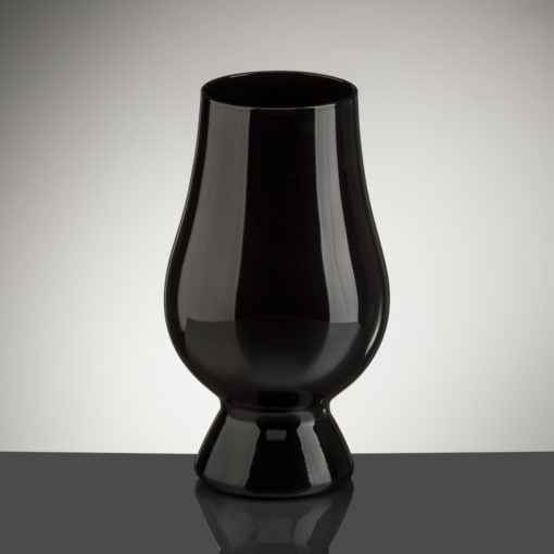 A Black version of The Glencairn Glass
