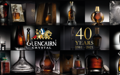 40 years at the cutting edge of crystal and glassware creation for Glencairn Crystal