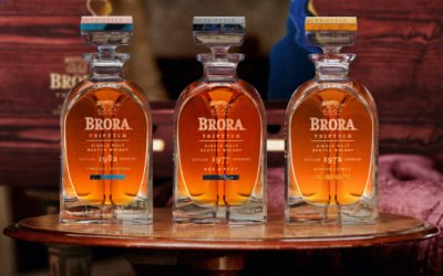 Diageo releases £30,000 Brora Triptych rare whisky collection in handcrafted Glencairn Crystal decanters