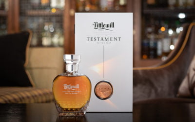 New Littlemill Scotch Whisky in bespoke Glencairn Crystal decanters is a testament to the past